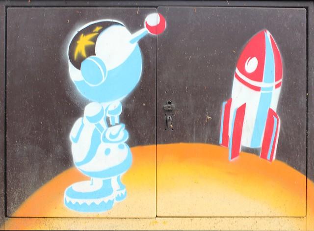 Einsamer Astronaut