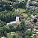 Church in Ufford - Suffolk aerial image