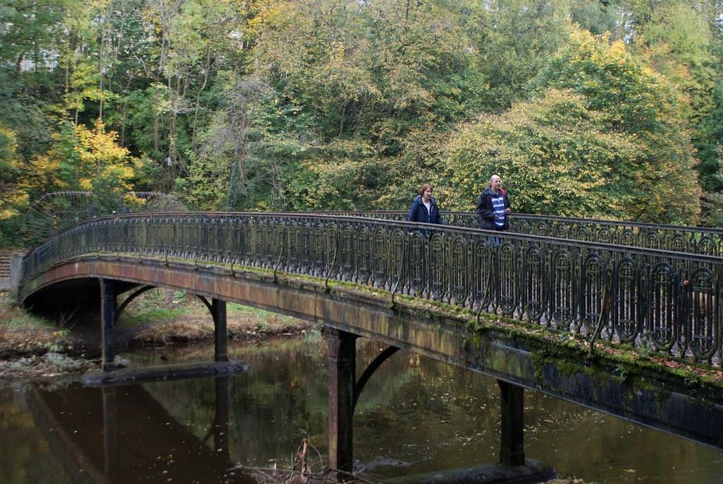 Pont sur la rivière Kelvin à Glasgow.