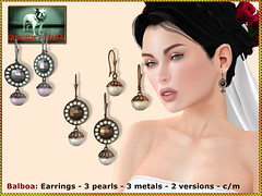 Bliensen - Balboa - Earrings
