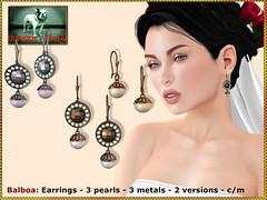 Bliensen - Balboa - Earrings