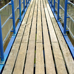 Footbridge at Preston Docks