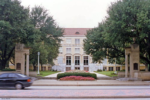 college university schoolbuilding architecture 1994 fortworth texas