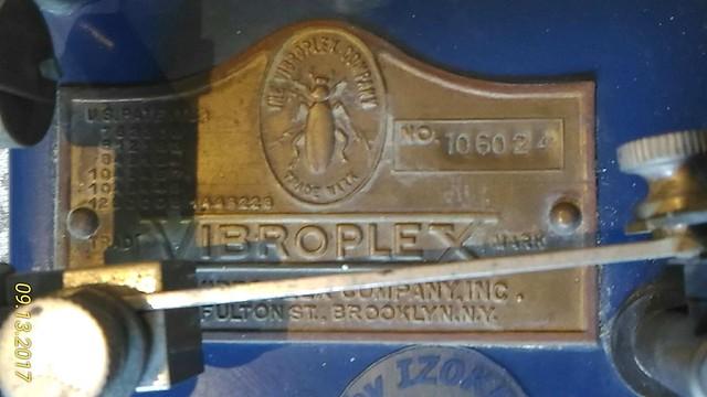 Vibro Blu j-36 - plate