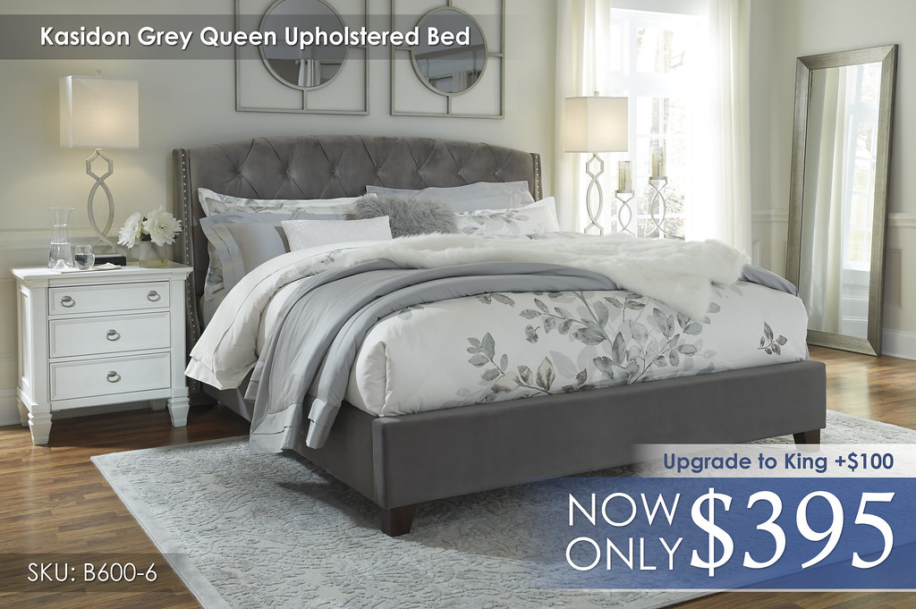 Kasidon Upholstered Bed B600-658-656-697-Q287