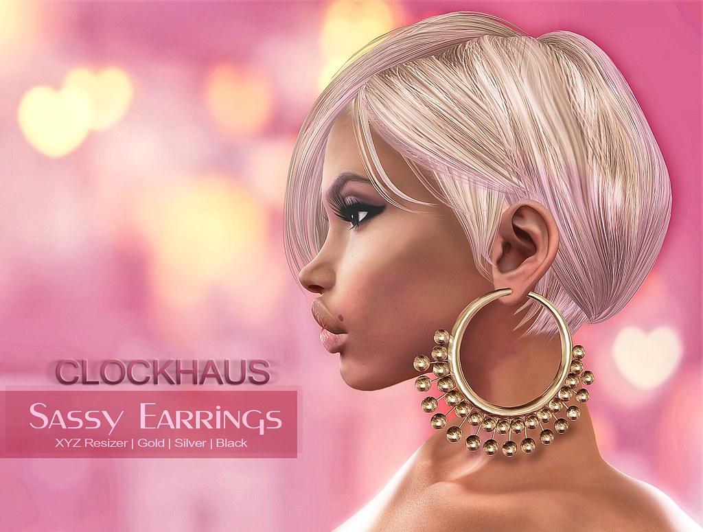 Sassy Earrings @ Cosmopolitan - TeleportHub.com Live!