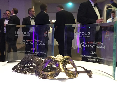 UKOUG Awards evening