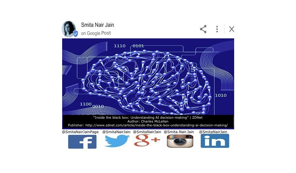 """SNJ: T-1894: """"Inside The Black Box: Understanding AI Decision-Making"""" #SmitaNairJain   Inside the black box: Understanding AI decision-making Artificial intelligence algorithms are increasingly influential in peoples' lives, but their inner workings are o"""