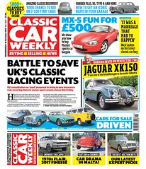 New issue out today: - Norman Dewis on perfecting Jaguar's XK150 - Mazda MX-5 for £500 - Get an iconic badge into your garage ...and more!pic.twitter.com/dFXXLzkoKP