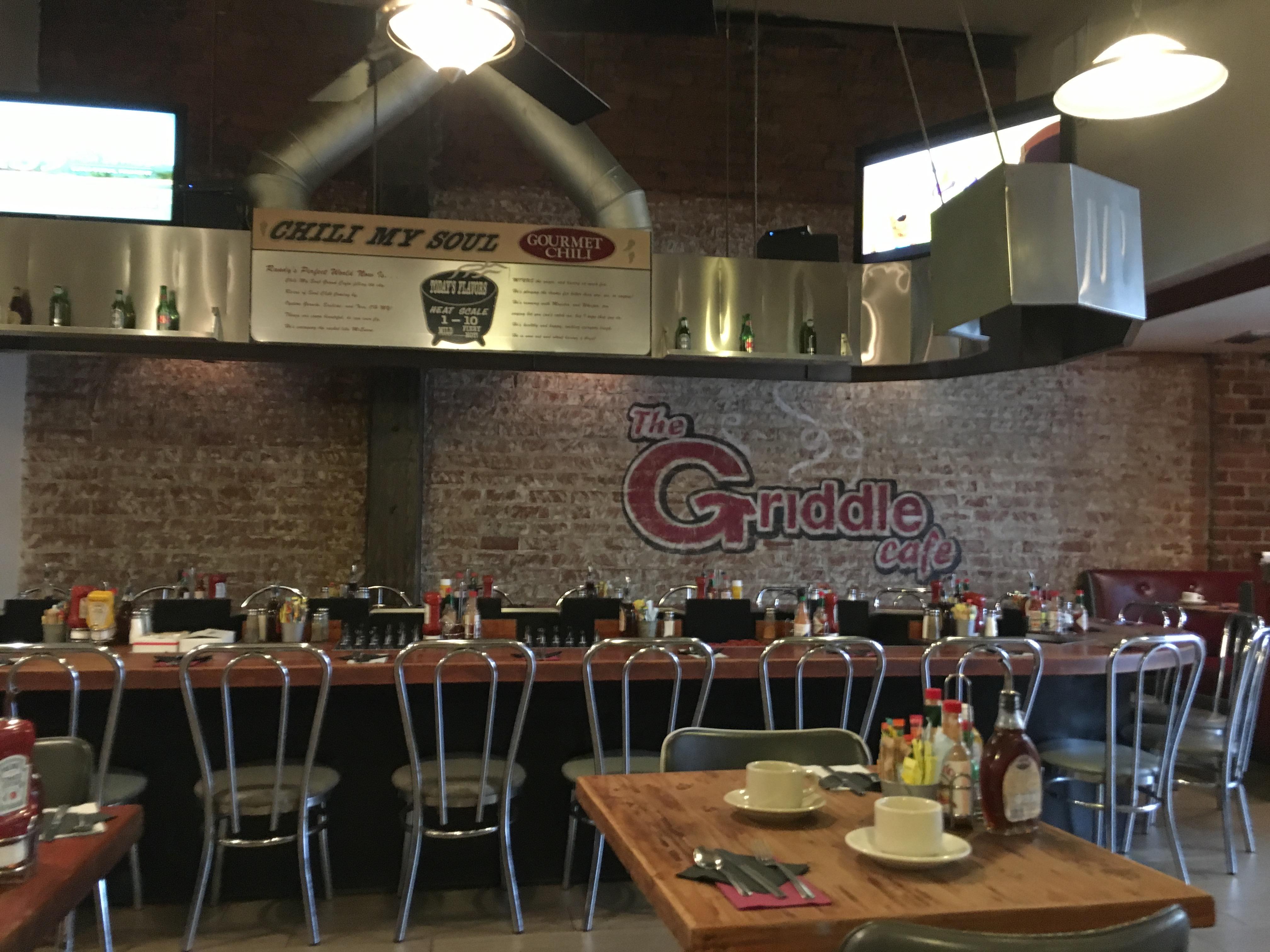 Los Angeles Food - griddle cafe interior