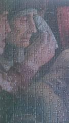 Detail puzzle - Dead Christ, Mantegna (1000p)