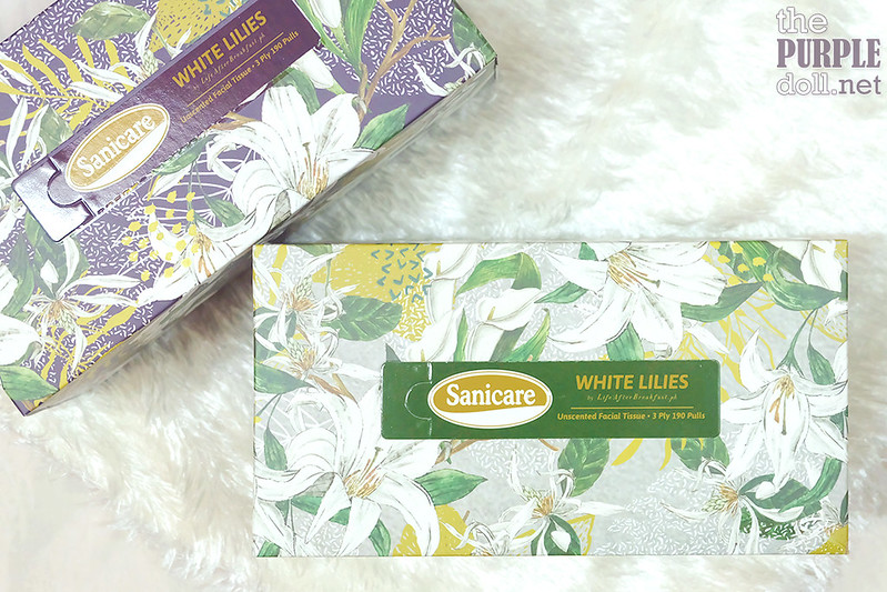 Sanicare White Lilies Light