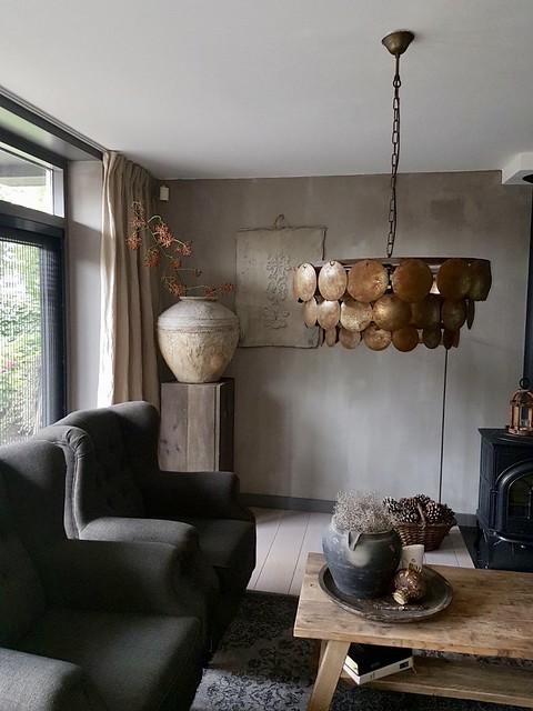 Zuil met kruik lamp Hoffz