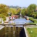 The Grand Union Canal at Berkhamstead, Hertfordshire, 13th October 1990