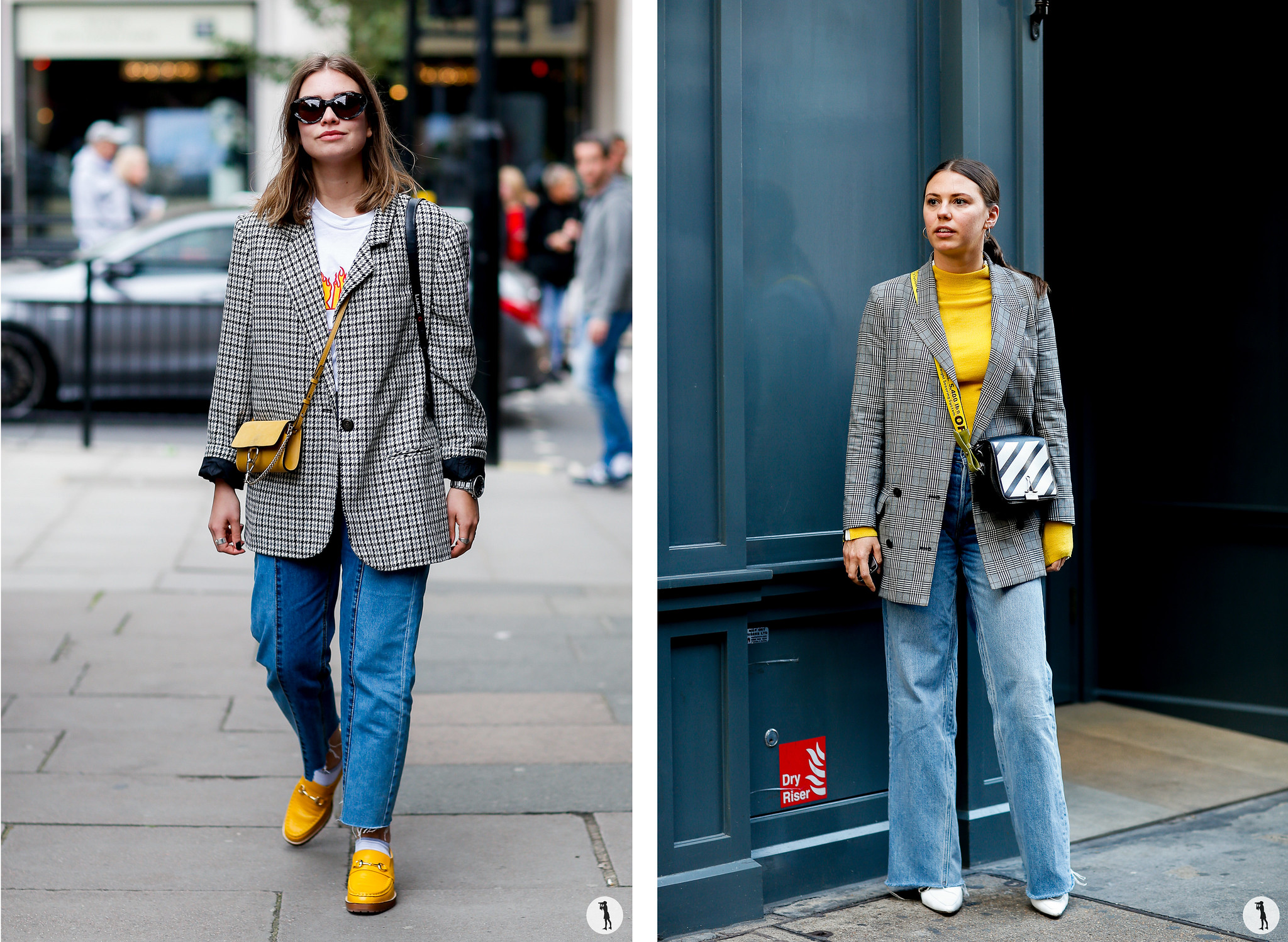 Street style - London Fashion Week SS18
