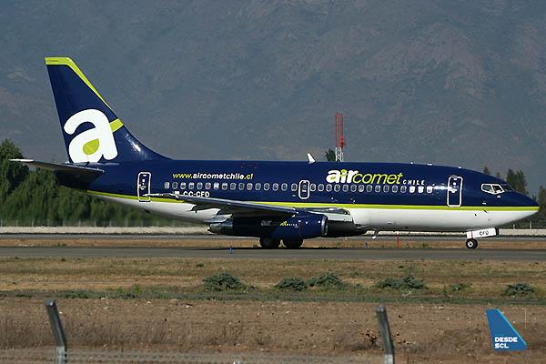 Air Comet Chile B737-200 Adv CC-CFD (A.Ruiz)