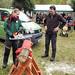 Revier Blankenfelde Brennholztag Herbst 2017  Test an einer Schnitthose