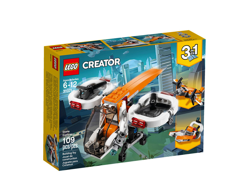 LEGO Creator 31071 - Drone Explorer