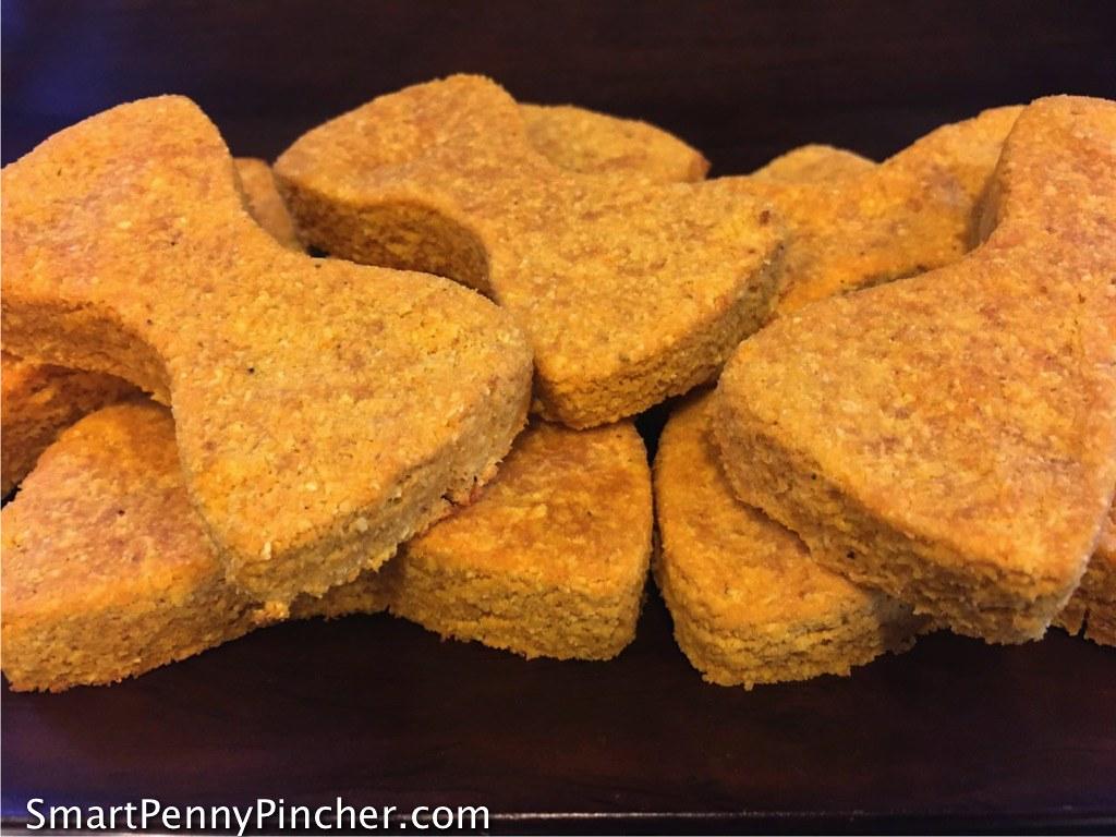 Homemade Grain Free Pumpkin Dog Treat