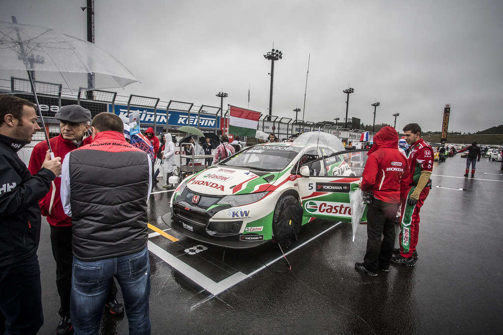 MICHELISZ Norbert (hun) Honda Civic team Castrol Honda WTC ambiance portrait during the 2017 FIA WTCC World Touring Car Championship race at Motegi from october 27 to 29, Japan - Photo Gregory Lenormand / DPPI