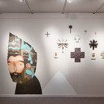 Jaime Molina: Superstitio, Jeffco Alumni Exhibition - Photo by Wes Magyar