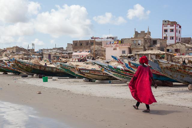 Yoff Fishing Village, Dakar, Senegal