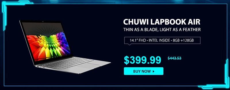 Chuwi LapBook Air レビュー (2)