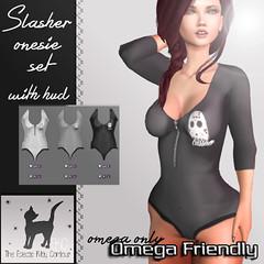 slasher onesie set