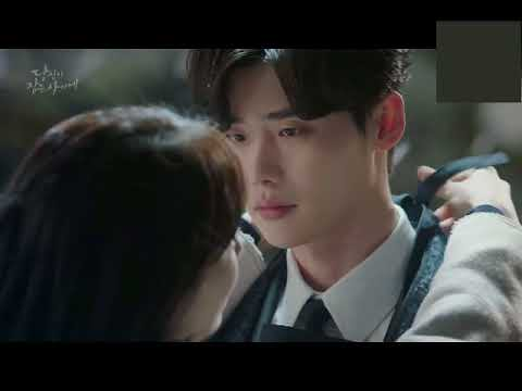 while you were sleeping cute scene