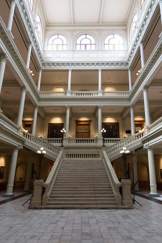 Georgia Grand Staircase (South Atrium)