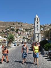 Symi Town   Tourists