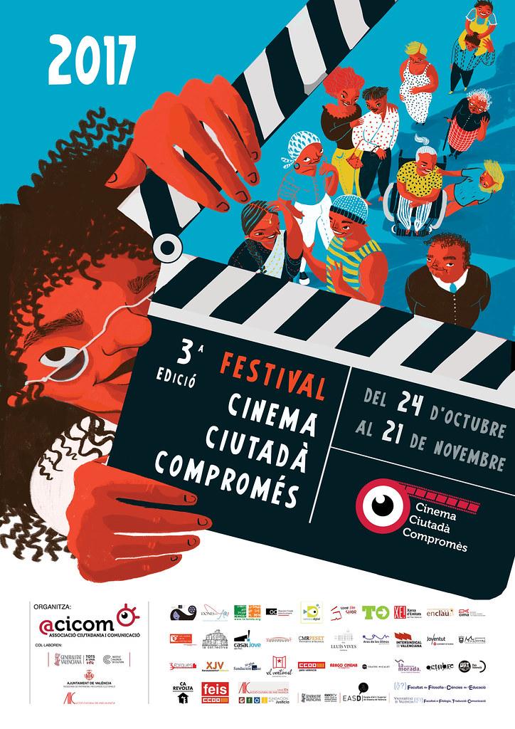 20171024 a 20171121 Festival Cinema Ciutadà Compromés 2017