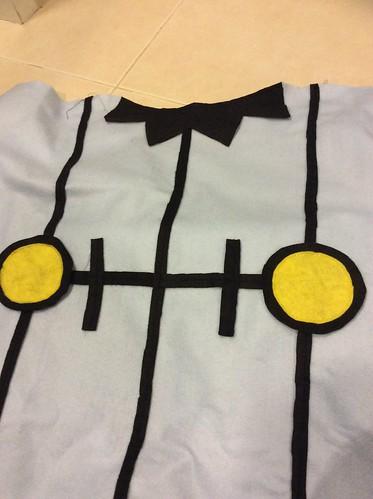DIY Chandelure costume