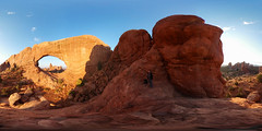 360 Selfie At Arches