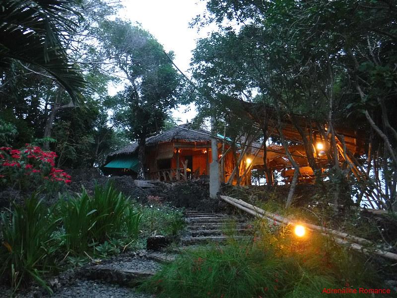 Nature's Eye Resort reception area