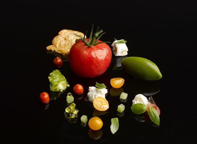 8. JAAN Heirloom Tomato