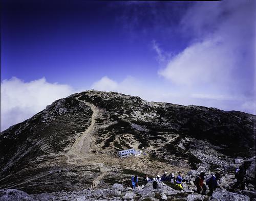 Mt. Kiso-komagatake 4x5 film