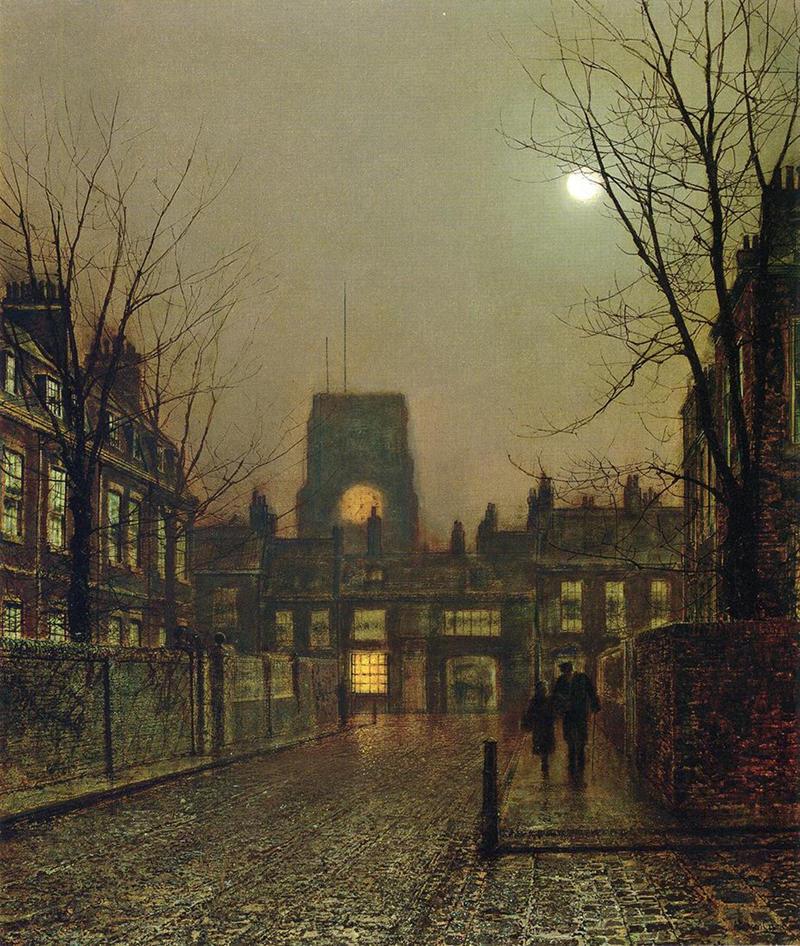 Old Chelsea by John Atkinson Grimshaw