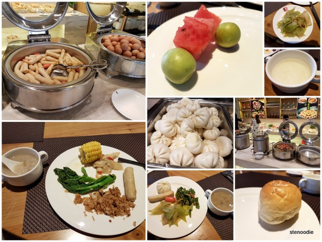 Yuantong Hotel continental breakfast buffet