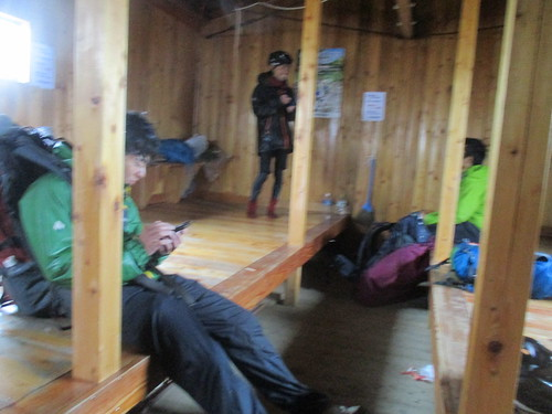 立派な避難小屋