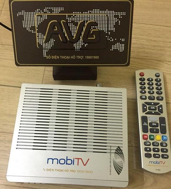 DVB-T2 MobiTV Anten Trong nha