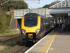 220007 at Berwick-upon-Tweed (18/10/17)