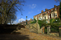 Scenic scene in Avenham Preston