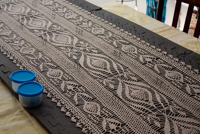 Lace Crochet Table Runner