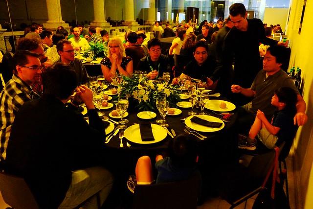 Workshop dinner, Fujifilm X-E1, XF18-55mmF2.8-4 R LM OIS