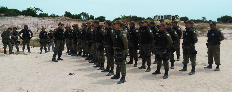 PM - treinamento em Monte Alegre