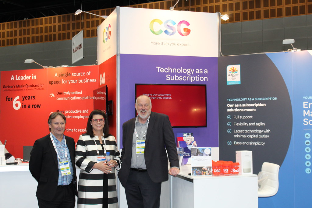 CSG at Gold Coast Gartner Symposium 2017