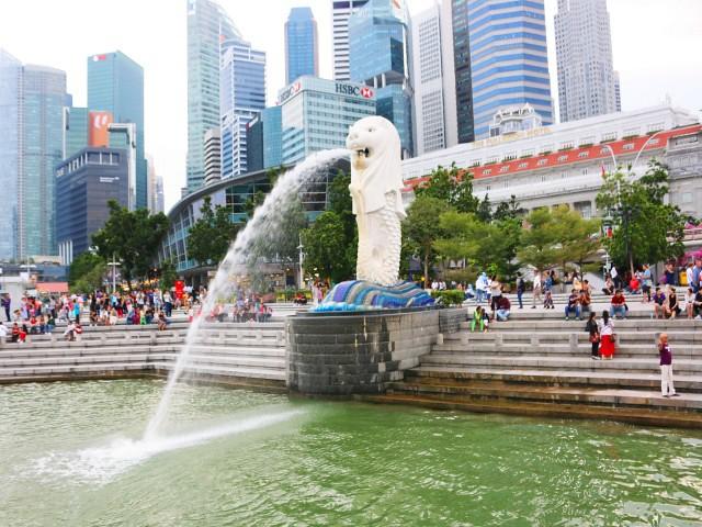 merlion park Gradini si Parcuri din Singapore 2