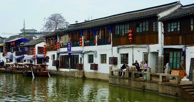 Shanghai Zhujiajiao Water Town, Panasonic DMC-TZ7