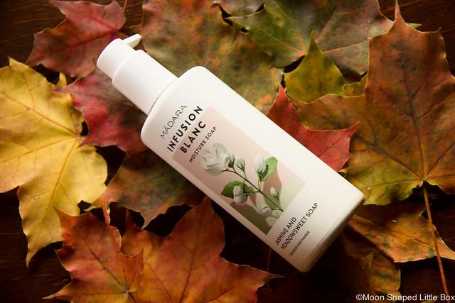 Madara luonnonkosmetiikka vartalolle paras suihkugeeli käsisaippua jasmiinin tuoksuinen Madaran saippuat kokemuksia herkälle iholle kosteuttava vartalosaippua nestemäinen pumppupullossa
